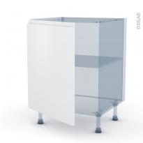 IPOMA Blanc mat - Kit Rénovation 18 - Meuble bas cuisine  - 1 porte - L60xH70xP60