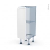 IPOMA Blanc mat - Kit Rénovation 18 - Meuble bas prof.37  - 1 porte - L30xH70xP37,5