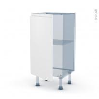 IPOMA Blanc mat - Kit Rénovation 18 - Meuble bas prof.37  - 1 porte - L40xH70xP37,5