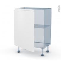 IPOMA Blanc mat - Kit Rénovation 18 - Meuble bas prof.37  - 1 porte - L60xH70xP37,5