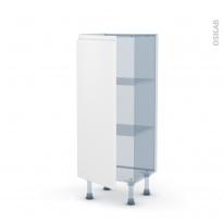 IPOMA Blanc mat - Kit Rénovation 18 - Meuble bas prof.37  - 1 porte - L40xH92xP37,5