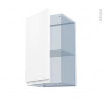 IPOMA Blanc mat - Kit Rénovation 18 - Meuble haut ouvrant H70  - 1 porte - L40xH70xP37,5