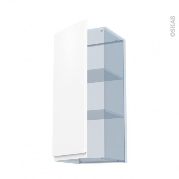 IPOMA Blanc mat - Kit Rénovation 18 - Meuble haut ouvrant H92  - 1 porte - L40xH92xP37,5