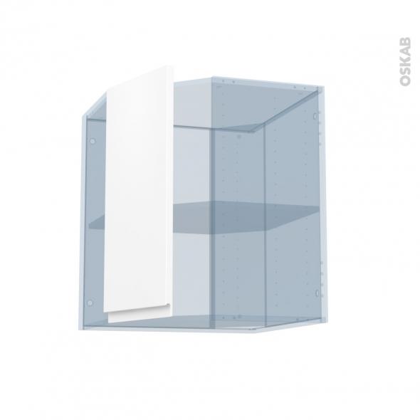 IPOMA Blanc mat - Kit Rénovation 18 - Meuble angle haut - 1 porte N°77 L32 - L60xH70xP37,5