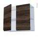 IPOMA Noyer - Kit Rénovation 18 - Meuble haut ouvrant H70  - 2 portes - L80xH70xP37,5