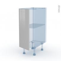 IVIA Gris - Kit Rénovation 18 - Meuble bas cuisine  - 1 porte - L30xH70xP60