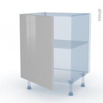 IVIA Gris - Kit Rénovation 18 - Meuble bas cuisine  - 1 porte - L60xH70xP60