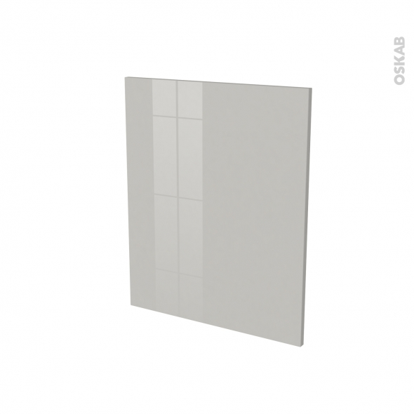 IVIA Gris - Rénovation 18 - joue N°78 - Avec sachet de fixation - L60 x H70 Ep.1.2 cm