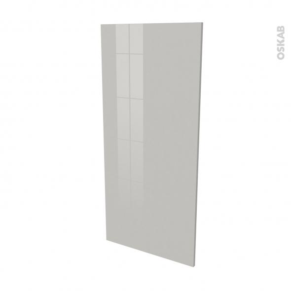 IVIA Gris - Rénovation 18 - joue N°80 - Avec sachet de fixation - L60 x H125 Ep.1.2 cm