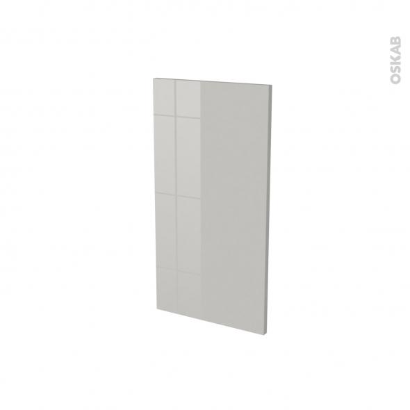IVIA Gris - Rénovation 18 - joue N°81 - Avec sachet de fixation - L37.5 x H70 Ep.1.2 cm