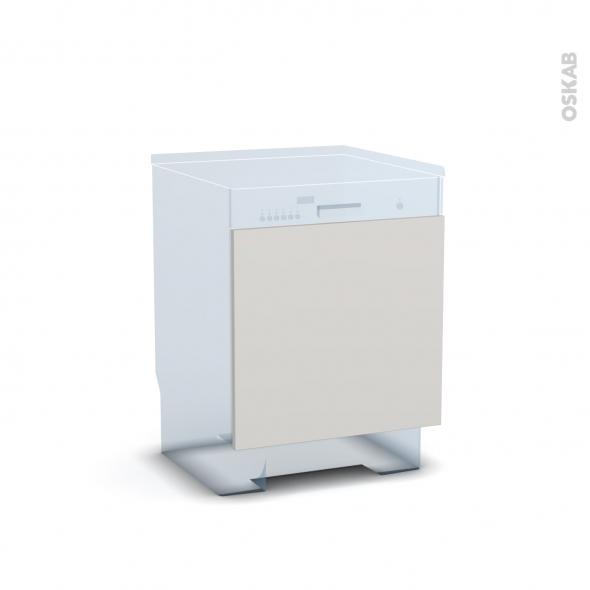 IVIA Gris - Rénovation 18 - Porte N°16 - Lave vaisselle intégrable - L60xH57