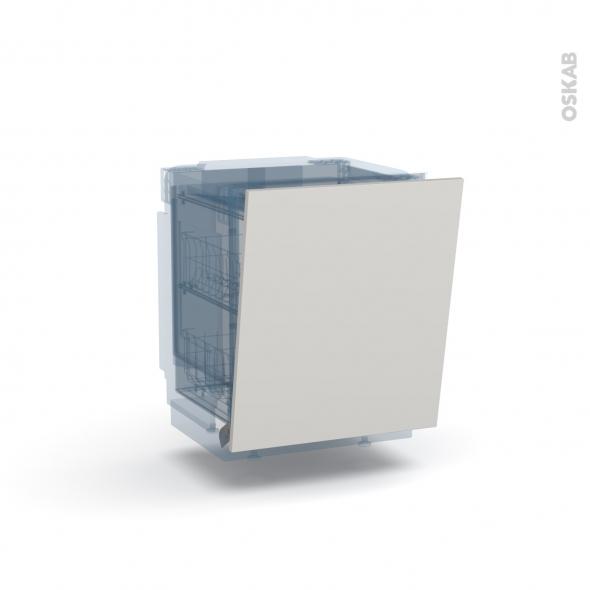 IVIA Gris - Rénovation 18 - Porte N°21 - Lave vaisselle full intégrable - L60xH70