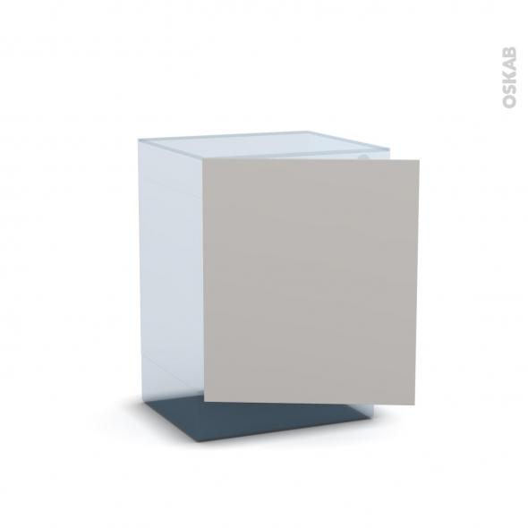 IVIA Gris - Rénovation 18 - Porte N°21 - Lave linge - L60xH70