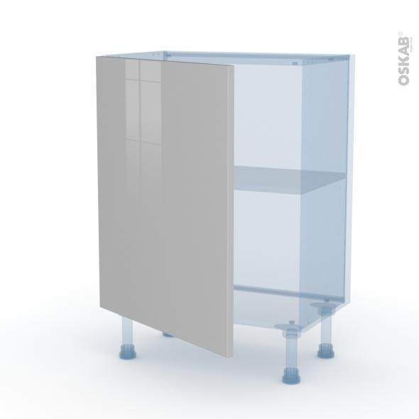 IVIA Gris - Kit Rénovation 18 - Meuble bas prof.37  - 1 porte - L60xH70xP37,5