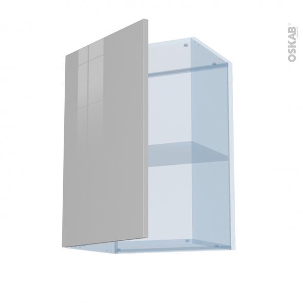 IVIA Gris - Kit Rénovation 18 - Meuble haut ouvrant H70  - 1 porte - L50xH70xP37,5