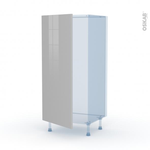IVIA Gris - Kit Rénovation 18 - Armoire frigo N°27  - 1 porte - L60xH125xP60