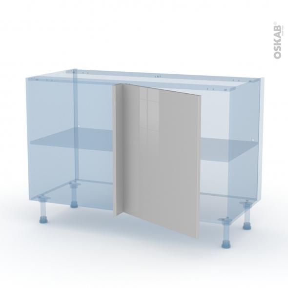 IVIA Gris - Kit Rénovation 18 - Meuble angle bas - 1 porte N°21 L60 - L120xH70xP60