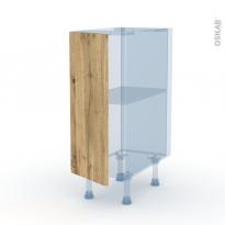 OKA Chêne - Kit Rénovation 18 - Meuble bas cuisine  - 1 porte - L30xH70xP60