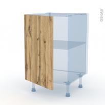 OKA Chêne - Kit Rénovation 18 - Meuble sous-évier  - 1 porte - L50xH70xP60