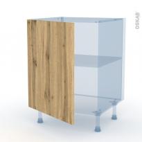 OKA Chêne - Kit Rénovation 18 - Meuble sous-évier  - 1 porte - L60xH70xP60