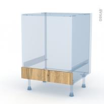 OKA Chêne - Kit Rénovation 18 - Meuble bas four  - bandeau bas - L60xH70xP60