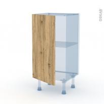 OKA Chêne - Kit Rénovation 18 - Meuble bas prof.37  - 1 porte - L40xH70xP37,5