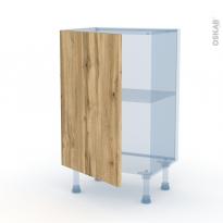 OKA Chêne - Kit Rénovation 18 - Meuble bas prof.37  - 1 porte - L50xH70xP37,5