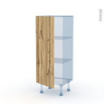 OKA Chêne - Kit Rénovation 18 - Meuble bas prof.37  - 1 porte - L40xH92xP37,5