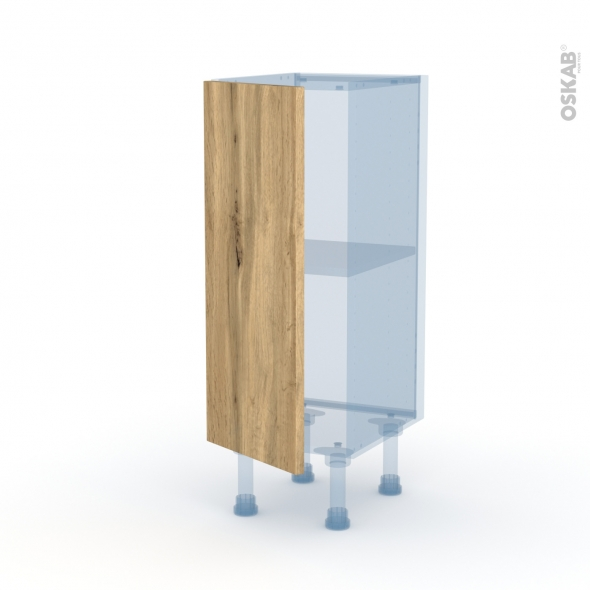 OKA Chêne - Kit Rénovation 18 - Meuble bas prof.37  - 1 porte - L30xH70xP37,5