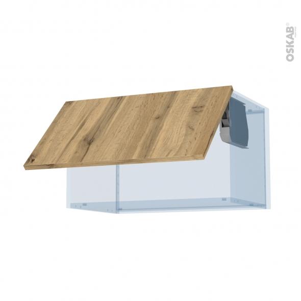 OKA Chêne - Kit Rénovation 18 - Meuble haut abattant H35  - 1 porte - L60xH35xP37,5