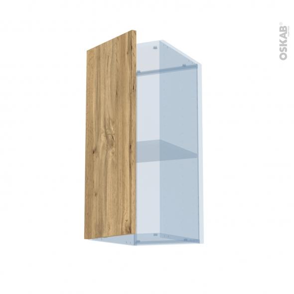 OKA Chêne - Kit Rénovation 18 - Meuble haut ouvrant H70  - 1 porte - L30xH70xP37,5