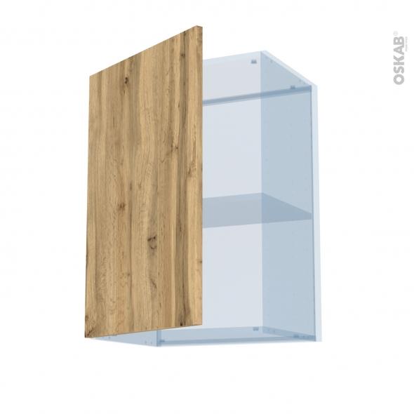OKA Chêne - Kit Rénovation 18 - Meuble haut ouvrant H70  - 1 porte - L50xH70xP37,5