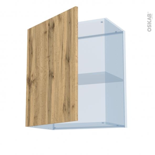 OKA Chêne - Kit Rénovation 18 - Meuble haut ouvrant H70  - 1 porte - L60xH70xP37,5