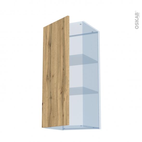 OKA Chêne - Kit Rénovation 18 - Meuble haut ouvrant H92  - 1 porte - L40xH92xP37,5