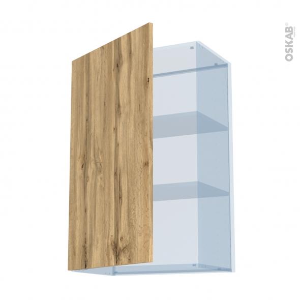 OKA Chêne - Kit Rénovation 18 - Meuble haut ouvrant H92  - 1 porte - L60xH92xP37,5