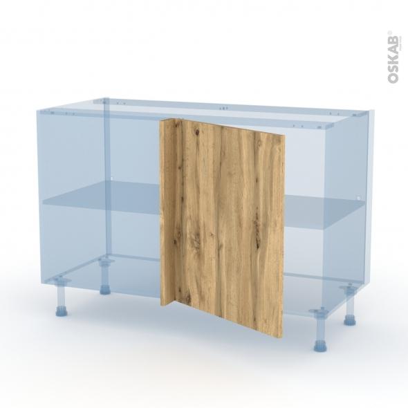 OKA Chêne - Kit Rénovation 18 - Meuble angle bas - 1 porte N°21 L60 - L120xH70xP60