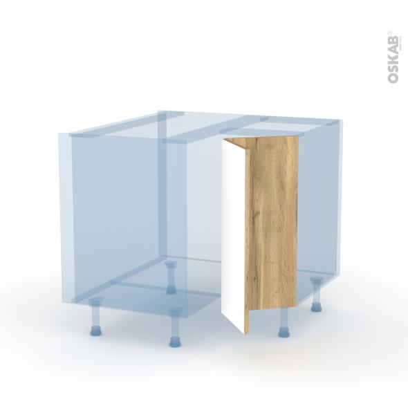 OKA Chêne - Kit Rénovation 18 - Meuble angle bas - 2 portes N°76 L30 - L90xH70xP60