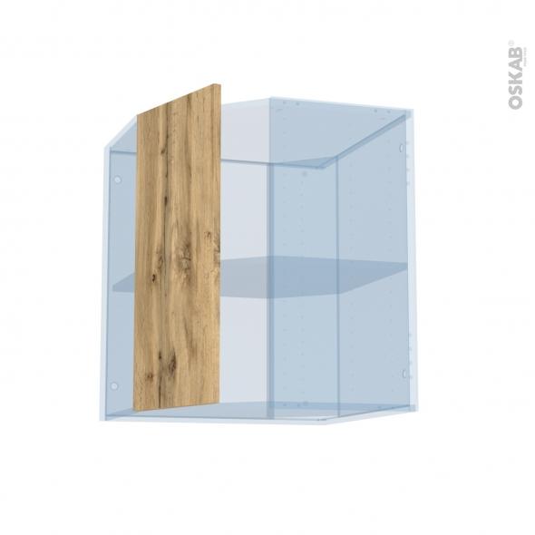 OKA Chêne - Kit Rénovation 18 - Meuble angle haut - 1 porte N°77 L32 - L60xH70xP37,5