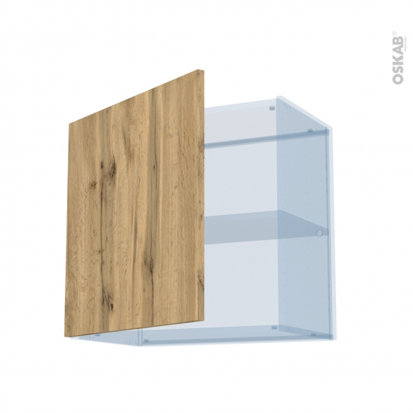 OKA Chêne - Kit Rénovation 18 - Meuble haut ouvrant H57 - 1 porte - L60xH57xP37,5