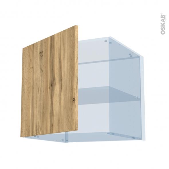 OKA Chêne - Kit Rénovation 18 - Meuble haut ouvrant H57 - 1 porte - L60xH57xP60