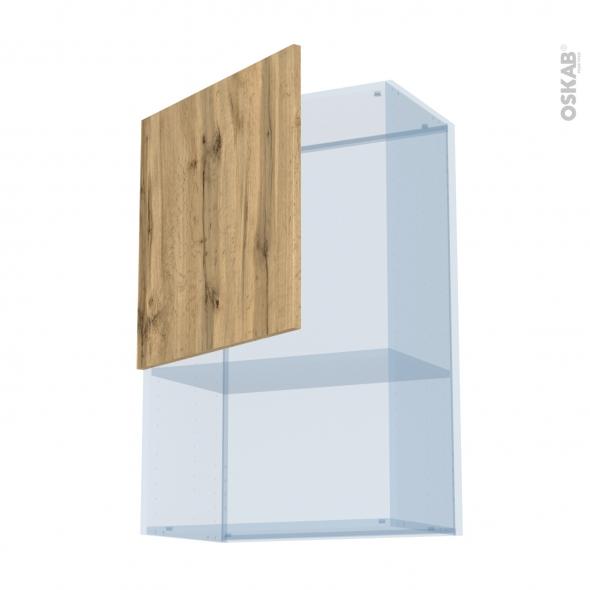 OKA Chêne - Kit Rénovation 18 - Meuble haut MO niche 36/38  - 1 porte - L60xH92xP37,5