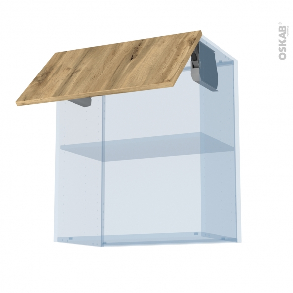 OKA Chêne - Kit Rénovation 18 - Meuble haut MO niche 36/38  - 1 porte - L60xH70xP37,5