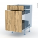 OKA Chêne - Kit Rénovation 18 - Meuble range épice - 3 tiroirs - L50xH70xP60