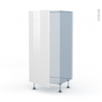 STECIA Blanc - Kit Rénovation 18 - Armoire frigo N°27  - 1 porte - L60xH125xP60
