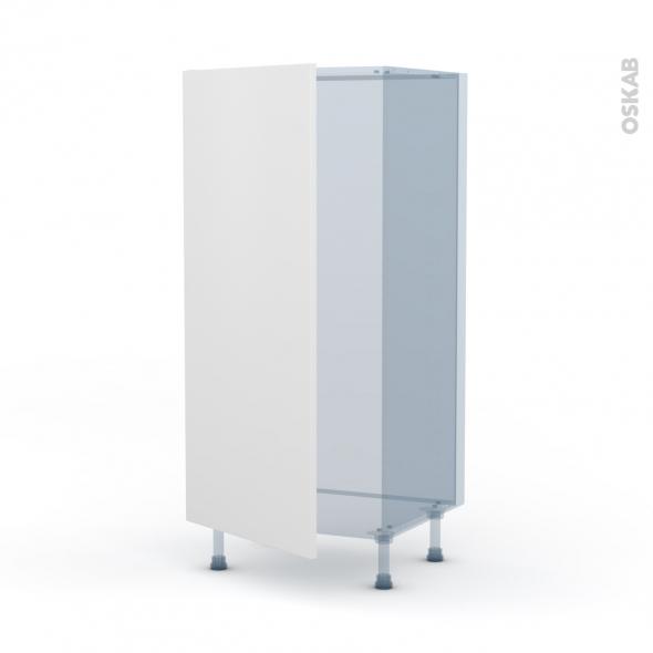 GINKO Blanc - Kit Rénovation 18 - Armoire frigo N°27 - 1 porte - L60xH125xP60