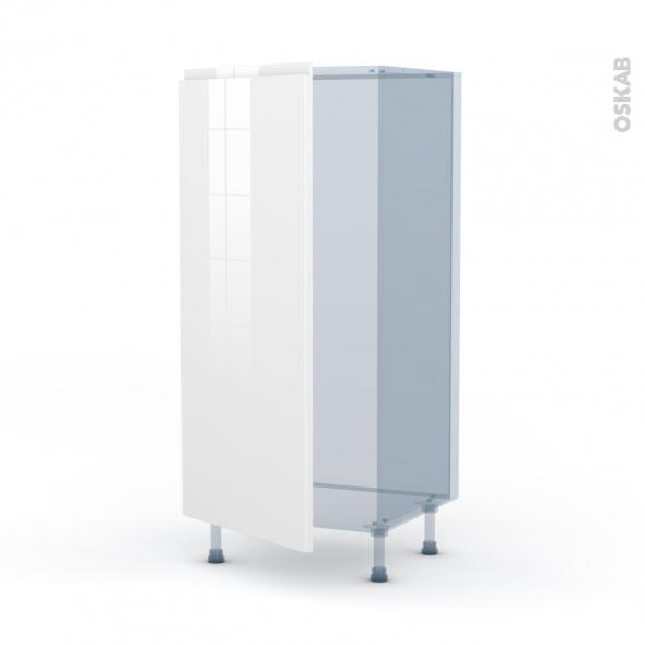 IPOMA Blanc - Kit Rénovation 18 - Armoire frigo N°27  - 1 porte - L60xH125xP60