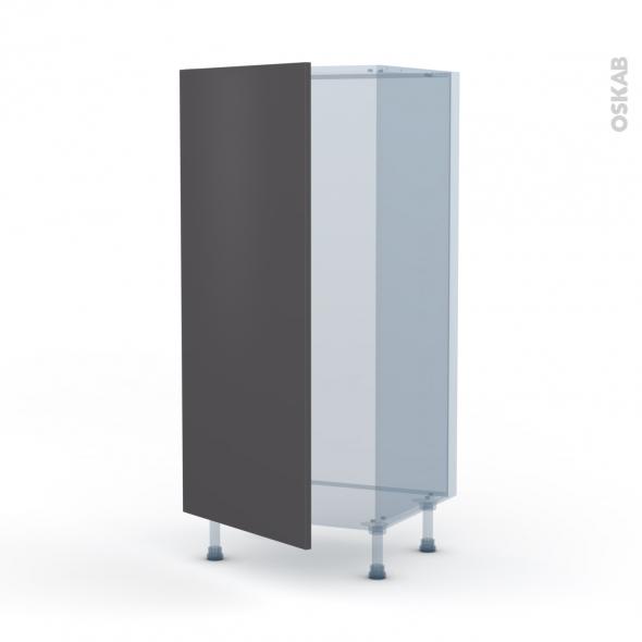 GINKO Gris - Kit Rénovation 18 - Armoire frigo N°27  - 1 porte - L60xH125xP60