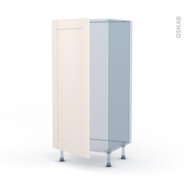 FILIPEN Ivoire - Kit Rénovation 18 - Armoire frigo N°27  - 1 porte - L60xH125xP60