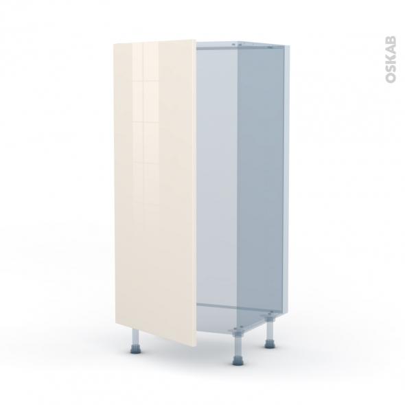 KERIA Ivoire - Kit Rénovation 18 - Armoire frigo N°27  - 1 porte - L60xH125xP60