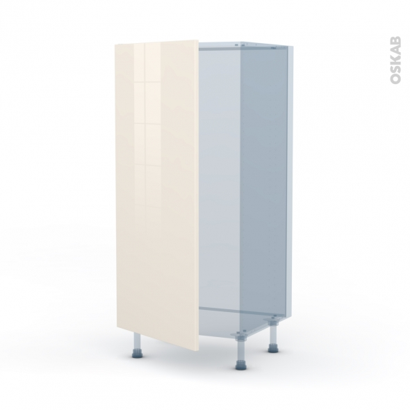keria ivoire kit r novation 18 armoire frigo n 27 1 porte l60xh125xp60 oskab. Black Bedroom Furniture Sets. Home Design Ideas